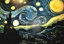 Gemälde STERNENNACHT  Van Gogh 60cm mal 80cm, NEU by Kerstin Dietsch - Egling