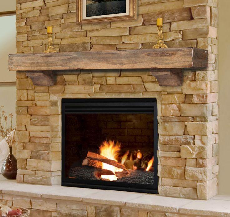 of exelent ideas of reclaimed wood mantel - Wood Mantels