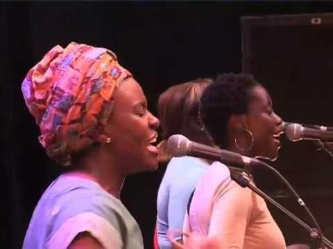 Coco Mbassi @ Afro-Pfingsten Festival 2003