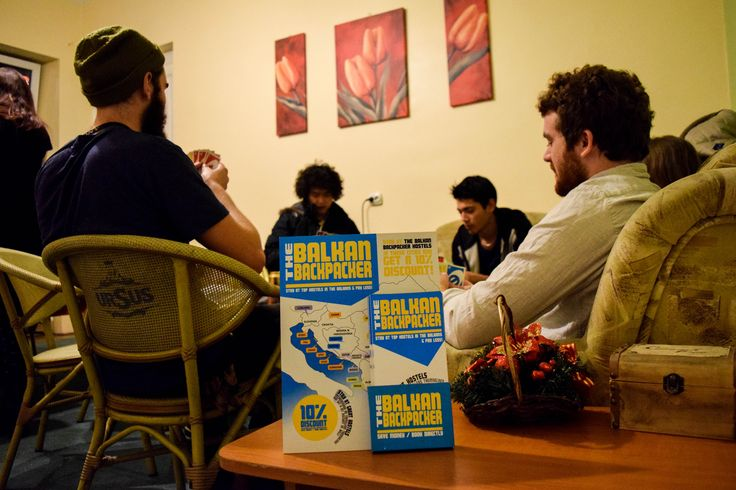 Balkan Backpackers playing cards