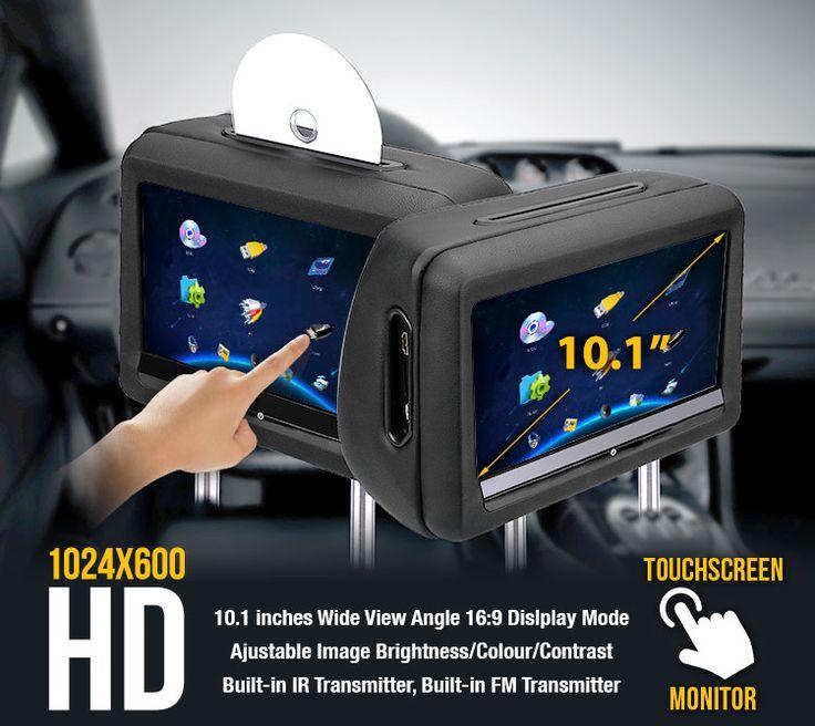 Headrest dvd player main image