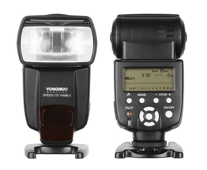 Yongnuo Speedlite YN-560 Mark II Blitz - manuelles Blitzgerät für Canon EOS, Nikon etc.