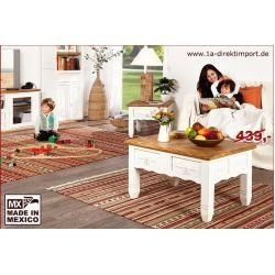 Couchtisch Wohnzimmertisch Shabby Chic Weiss Pinie Massiv 1a Direktimport1a Di 1000 In 2020 Shabby Chic Decor Diy Living Room Coffee Table Living Room Table