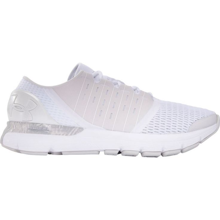 Under Armour Men's SpeedForm Europa City Record-Equipped Running Shoes, White