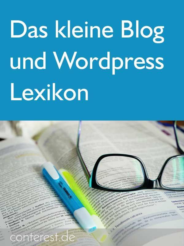 Was fehlt hier noch? Das kleine Blog & Wordpress Lexikon