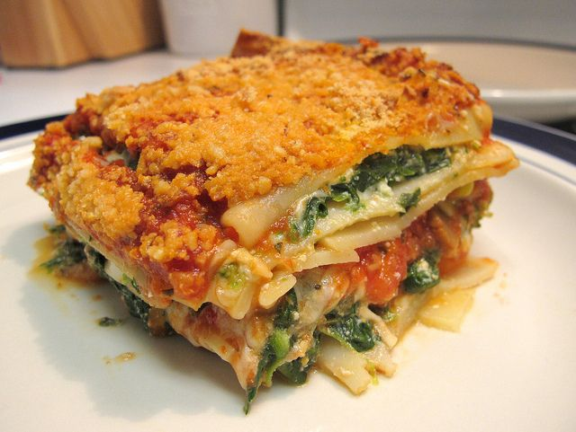 Easy Vegetable Lasagna Recipe Misc Recipes To Try Pinterest