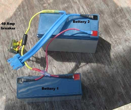 Wiring Two 12 Volt Batteries To Get 24 Volts