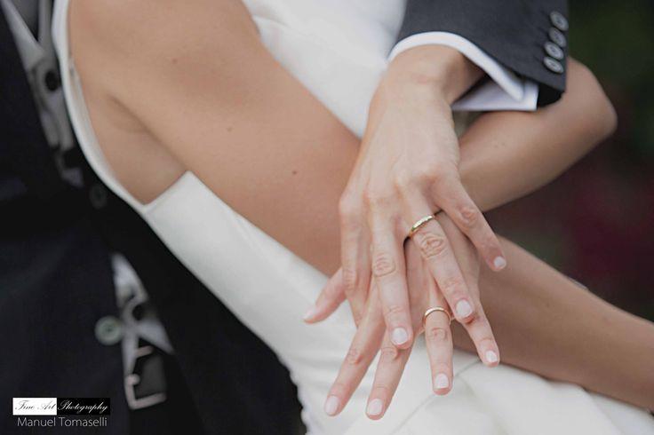 Wedding ring. Wedding photography