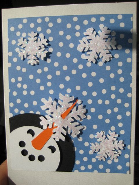 handmade christmas card by Osborne Signs & Wall Art, via Flickr