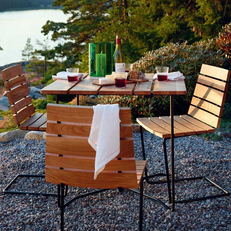 Teak Grinda Side Chairs | By Designer Matilda Lindblom