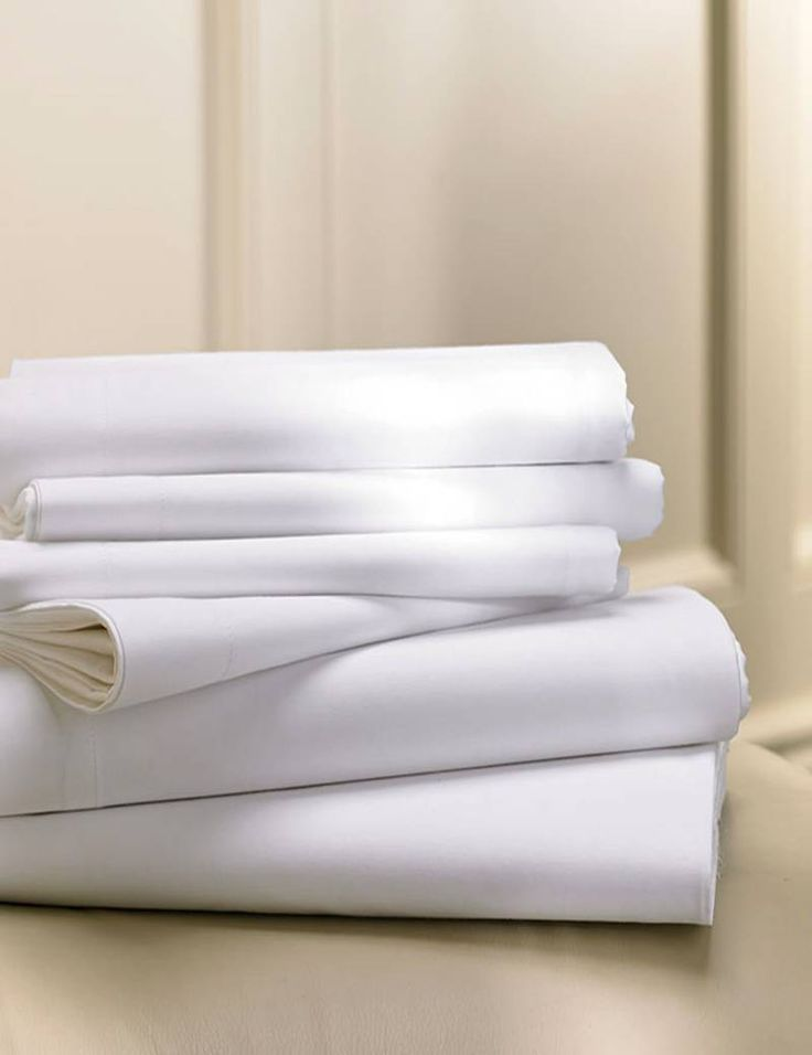 <h3>-- White Luxury Bed Sheets</h3> Our T200 Bed Sheets are made of 60% Cotton and 40% Polyester. Higher Cotton content makes the T200 Sheets softer. The optimum polyester / Cotton blend makes Bed Sheets Stronger, Long Lasting with Shrinkage Control. Our Bed Sheets are Wrinkle Free with No Ironing Required.