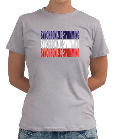 Maniac Synchronized Swimming Women T-Shirts $18.00