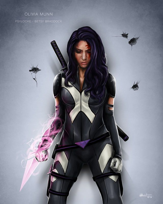 Olivia Munn Shares A Saucy New Psylocke Pic - moviepilot.com