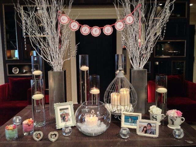 weddingレポ♡5 ウェルカムスペース|*・:。*:☆yumi diary☆゚・:。*: