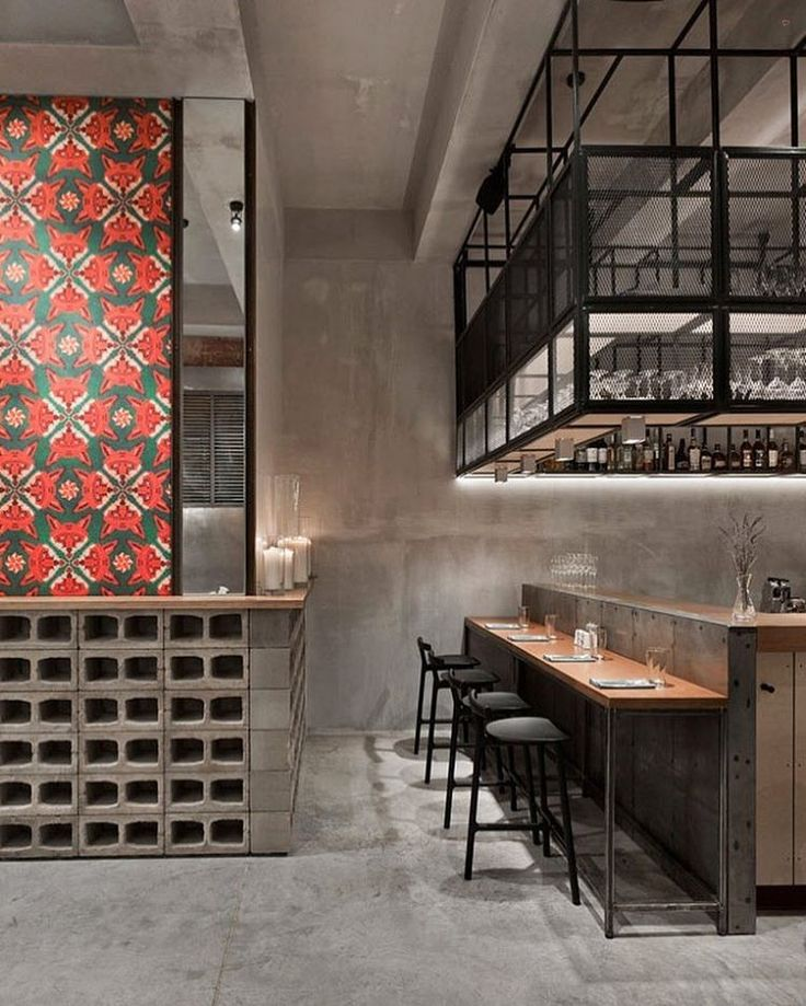 Strict Scandinavian minimalism mingles with fresh Asian accents to define the Holy Fox cafe designed by Mikhail Kozlov in central Moscow. #architecture #design #interiors #interiordesign #cafe #moscow... - Interior Design Ideas, Interior Decor and Designs, Home Design Inspiration, Room Design Ideas, Interior Decorating, Furniture And Accessories