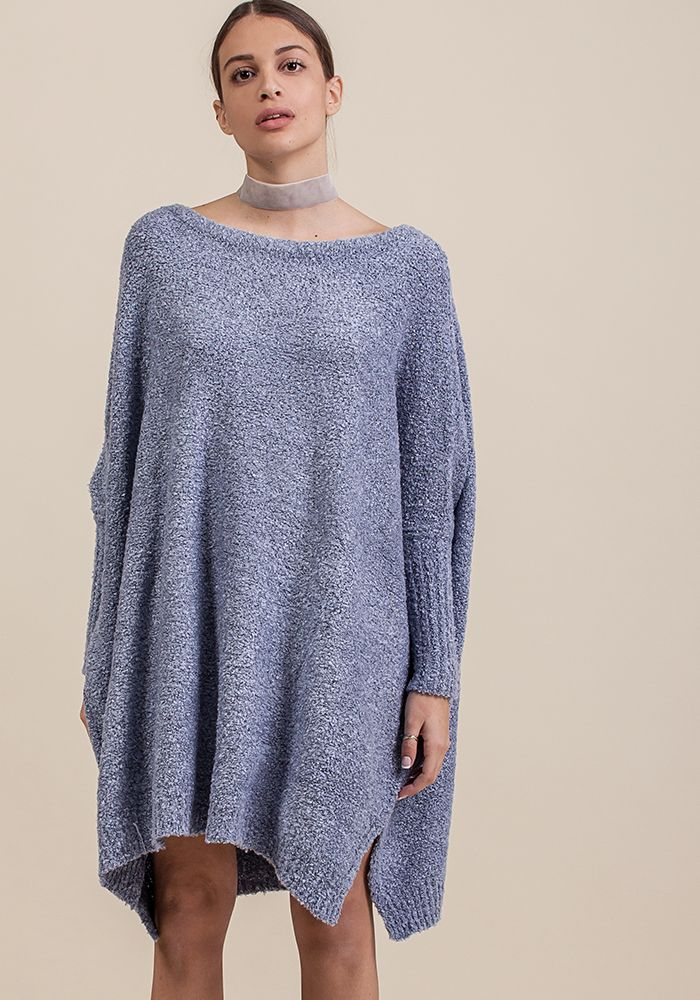 Hoar-frost Around Jumper  by myfashionfruit.com