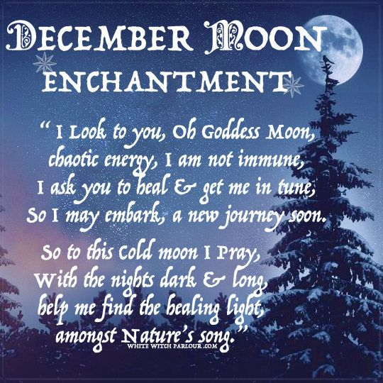 luna, Cold Moon, moon, goddess, energy, healing, prayer, blessing, enchantment, spells, book of shadows, occult, metaphysical, witch, wicca, reiki, december, name, symbolism,white witch,  awakening, full moon, www.whitewitchparlour.com