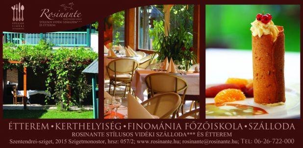 Rosinante étterem-Szentendrei sziget