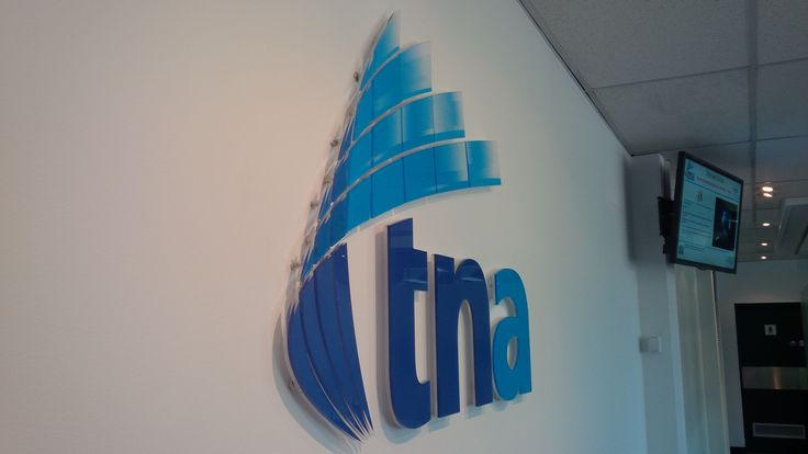 TNA #CSI #3D #lettering #custom #sign #CAD #extrusion #signage #name #letter #word #corporate #school #recognition #identity #design