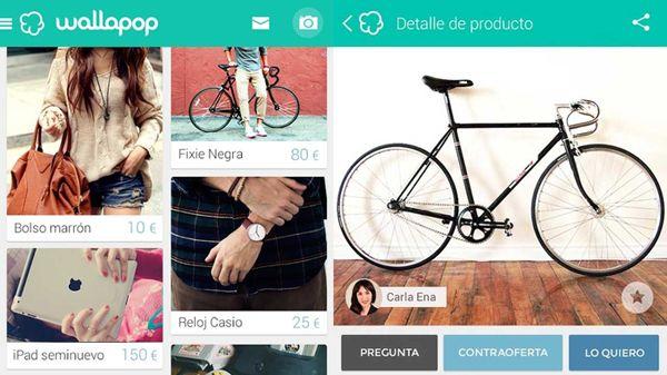 Wallapop, el mercadillo virtual #segundamano #app #compraventa #fleamarket #wallapop