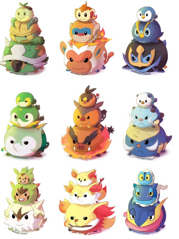 If Only These Pokemon Tsum Tsum were Real... 2