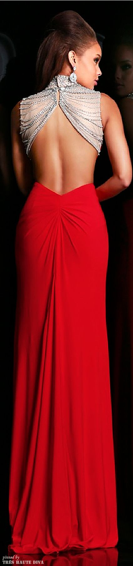 Sherri Hill Collection #red #gown #redgown
