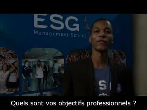 Paul-Edouard de l'ESG Management School au micro de AUX-CONCOURS.COM au Salon des Grandes Ecoles. Il nous donne des conseils pour réussir le #concours de l'#ESGMS #esgms.fr #admissions