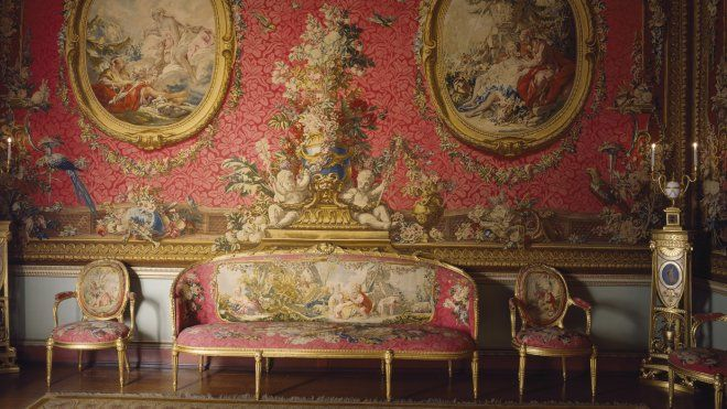 The Tapestry Room at Osterley Park, Middlesex