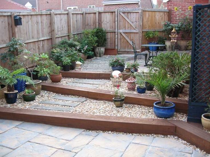 pamela and davids garden project with railway sleepers 2