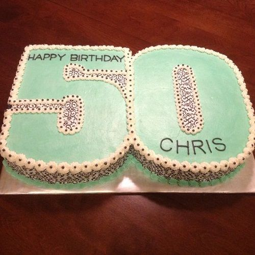 34 Unique 50th Birthday Cake Ideas with Images - My Happy Birthday ...