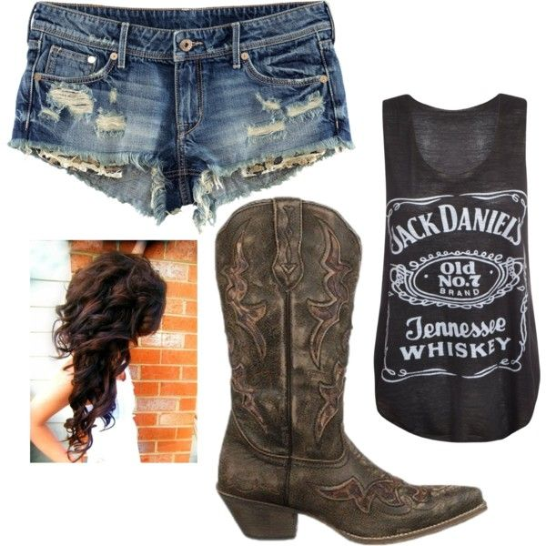 Jack Daniels Rough - I want a jack daniels shirt!! I would LOVE this outfit!