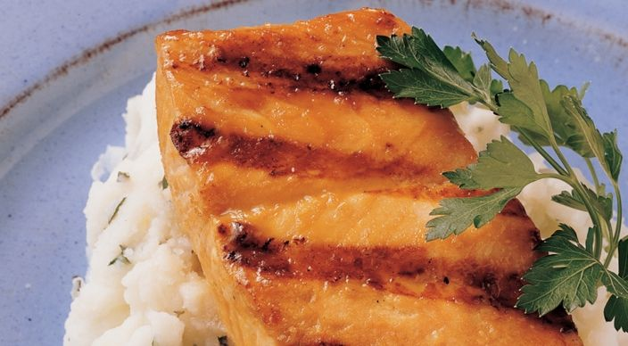Simple Salmon - SO YUMMY! Even my husband who hated salmon loves it now we make it with this recipe. Best to buy wild caught salmon for most Omega 3 benefits.