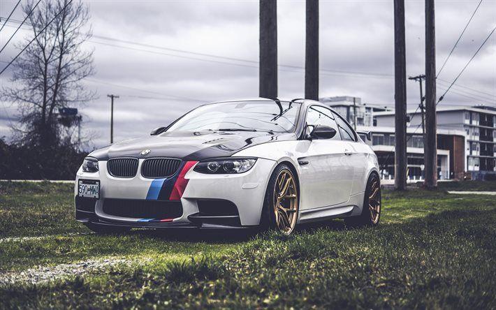 BMW M3, tuning BMW, M Sports, Bronze Wheels, BMW E92