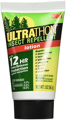 #3M Ultrathon insect repellent was developed for the military to provide long lasting, time released protection against mosquitoes for up to 12 hours. Repels Tic...