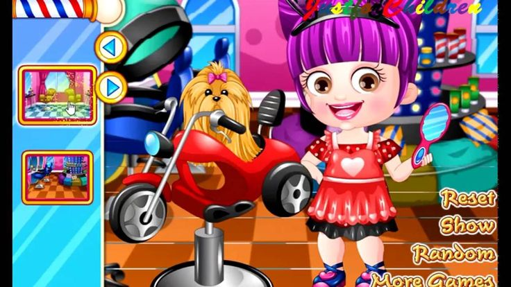 Baby Hazel Games | Dress up Games - Hairstylist | Baby Games | Free Game...
