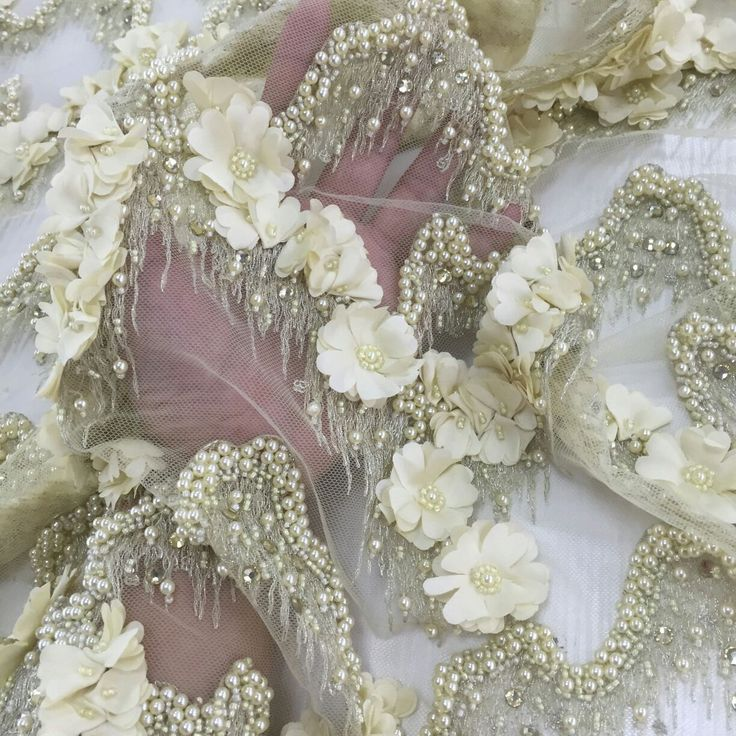 17 best images about 3d lace fabric on pinterest fashion for Wedding dress fabric stores