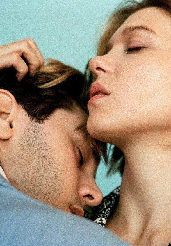 Xavier Dolan and Lea Seydoux