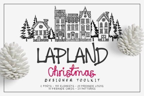 designeour:    Lapland Christmas Toolkit by Zeppelin Graphics...