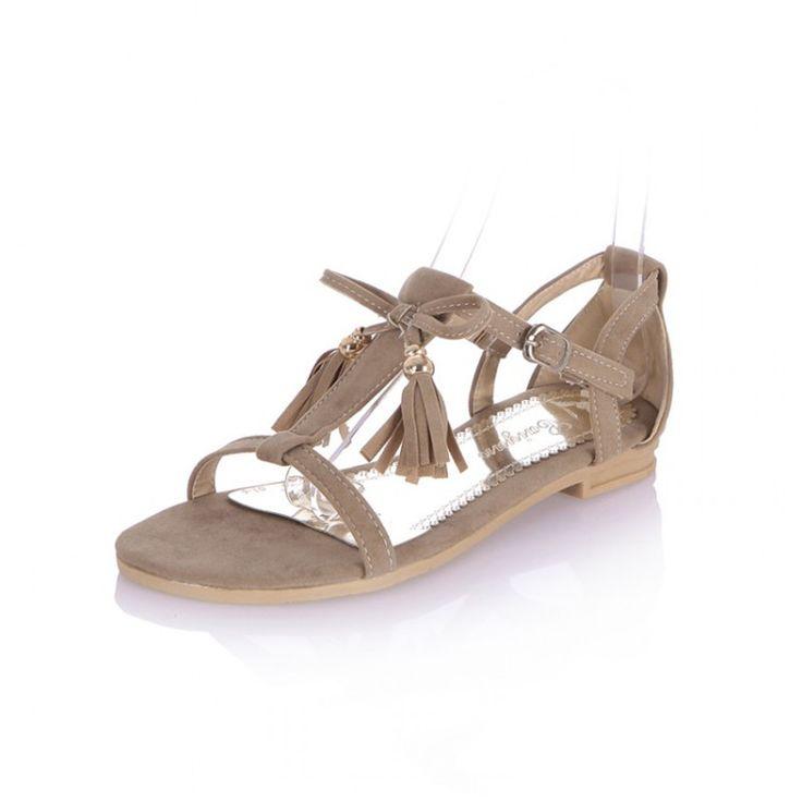 STOCK ITEM: Beach Sandals t-Strap Women Summer Sandals With Fringe Hot  Selling Tassel Heels Sandale Femme 5 Colors Tong Femme Sandales 2016