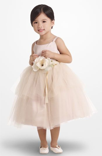 Sweet, ballerina-inspired tulle dress #flowergirl #NordstromWeddings