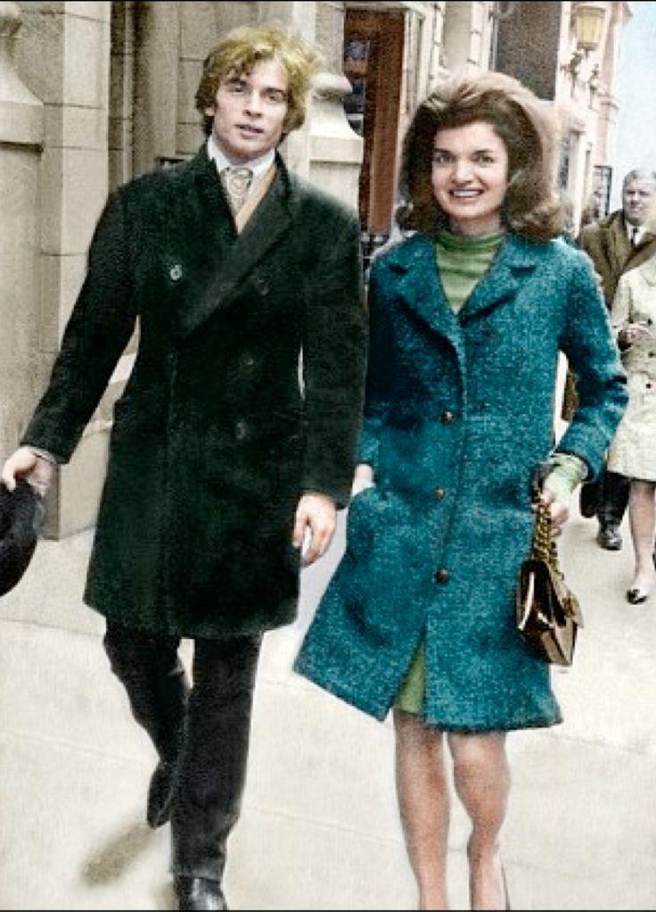 Rudolf Nureyev and Jackie Kennedy