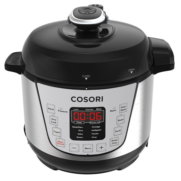 COSORI Mini 7-in-1 Multifunctional Programmable Pressure Cooker, Rice Cooker, Slow Cooker with Glass Lid, Extra Sealing Ring and Recipe Book, 2 Quart /800W List Price:	$69.99  With Deal:	$59.49  You Save:	$10.50 (15%)  buy now http://amzn.to/2vEG6Df