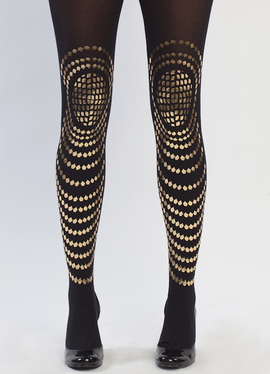 Gal Stern goldfish tights