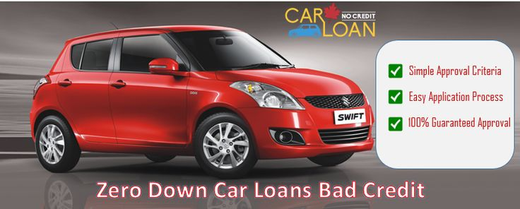 Its easy to avail zero down car loans in Canada. CarLoanNoCredit offers zero down payment auto loans at minimum rates 24/7 online. Get approved today.