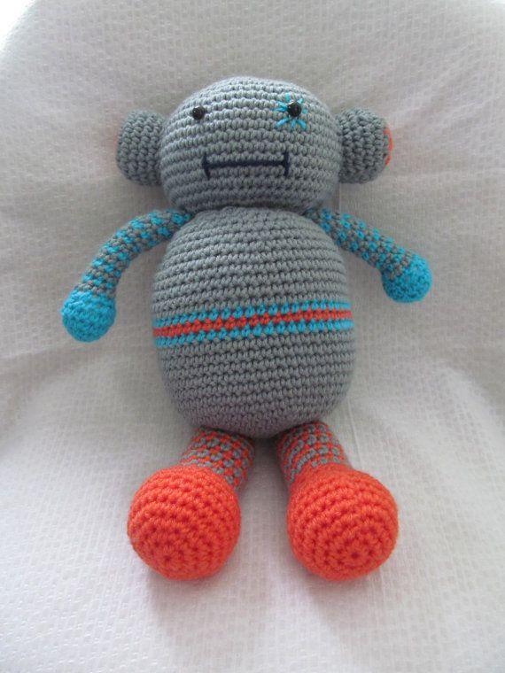 Rob the robotic pal by mwlforu on Etsy, $45.00