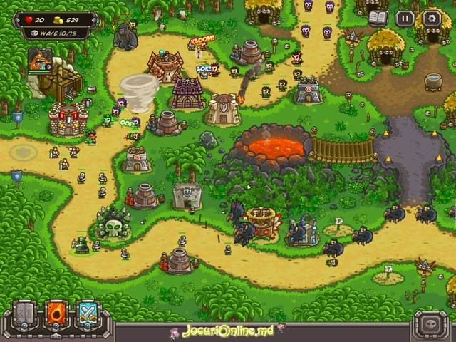 Kingdom Rush: Frontiers #freegames #strategy
