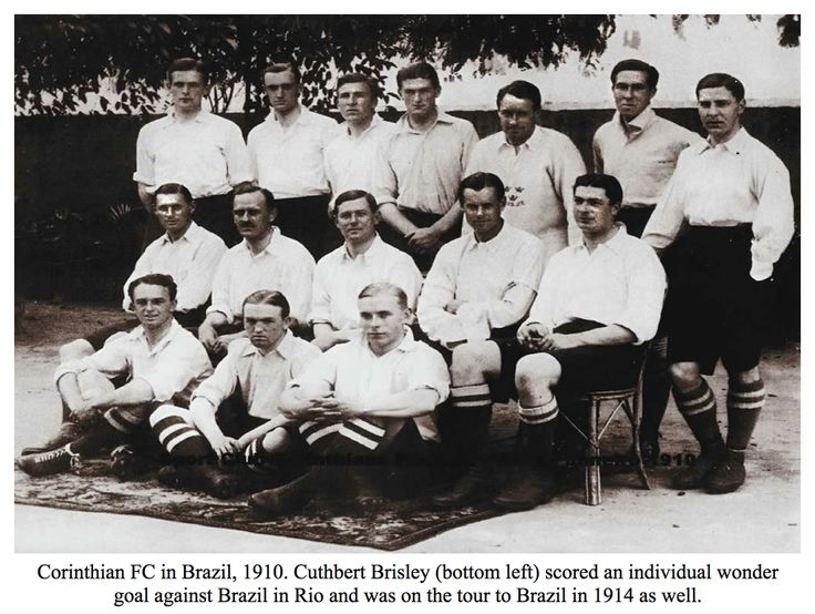 Corinthian Football Club in Brazil 1910