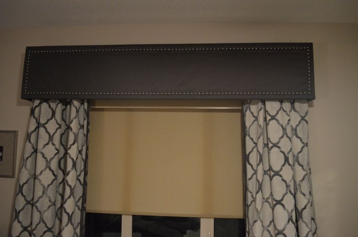 Valance I built and Wife decorated