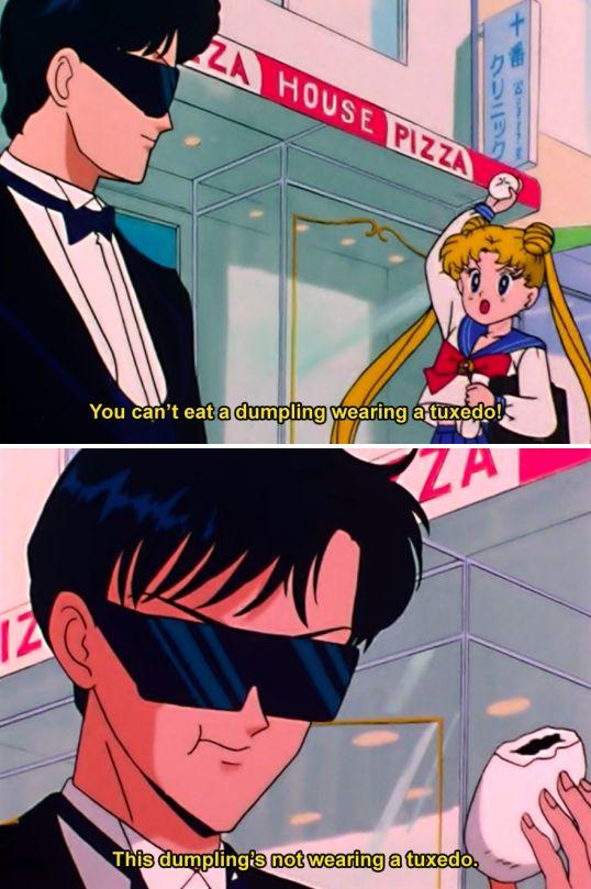 Sailor Moon dad jokes