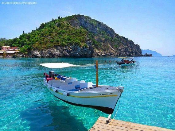 Corfu island - Paleokastritsa